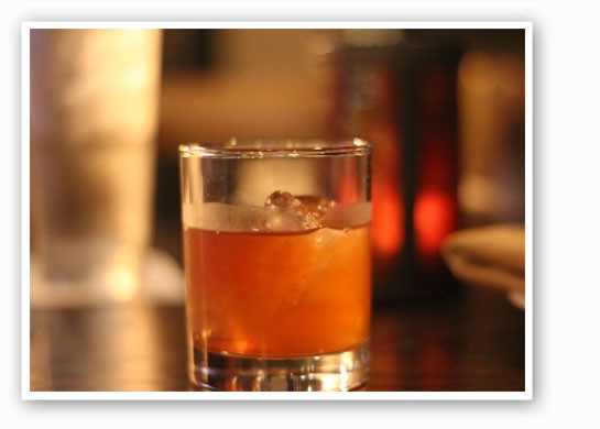 Enjoy a warm whiskey cocktail on Gamlin's patio this weekend. | Nancy Stiles