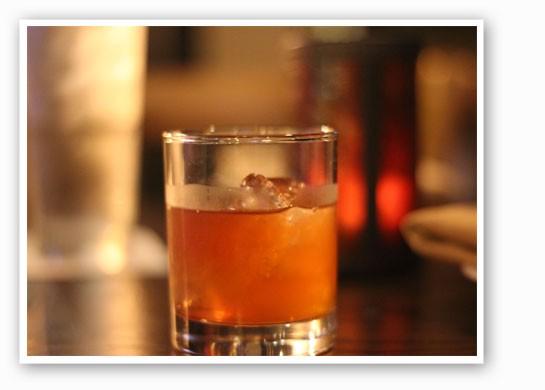 Enjoy a warm whiskey cocktail on Gamlin's patio this weekend. | Nancy Stiles