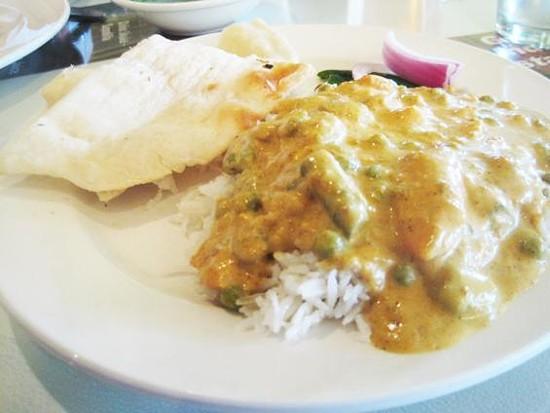 Vegetable korma from Gokul - IAN FROEB