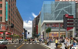 A rendering of the new Mercantile Exchange project - COURTESY: STANDPOINT PUBLIC AFFAIRS