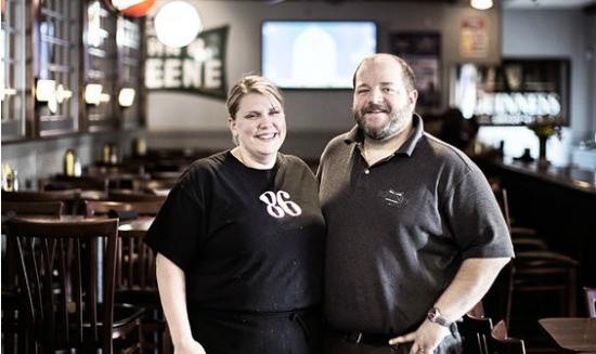 Juliet and Jason Greene, owners of J Greene's. | Jennifer Silverberg