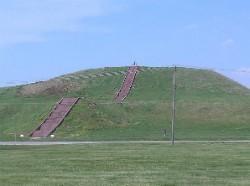Monks Mound, presumably built under the influence of black drink. - IMAGE VIA