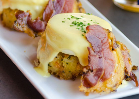 Eggs benedict. | Piccione Pastry