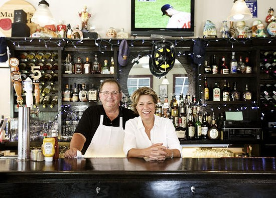 Nick and Maggie Collida, owners of the Piccadilly at Manhattan - JENNIFER SILVERBERG