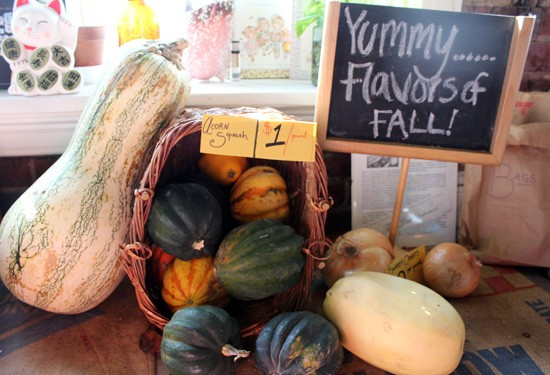 A selection of squash from Maude's Market. - MABEL SUEN