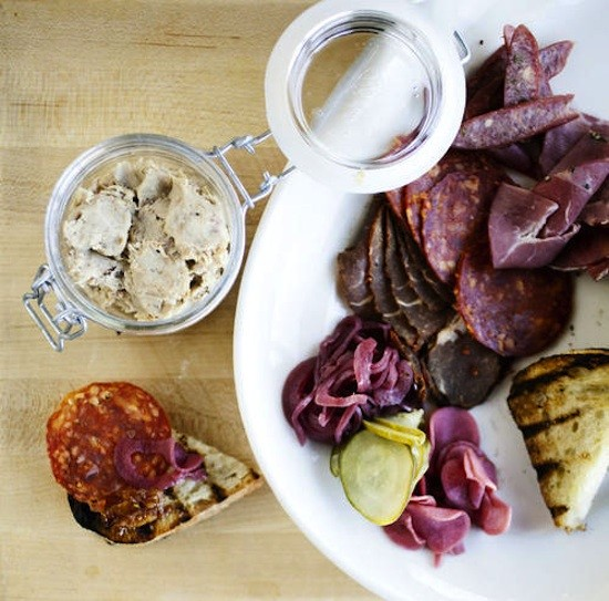A platter of the house-cured meats at the Block - JENNIFER SILVERBERG