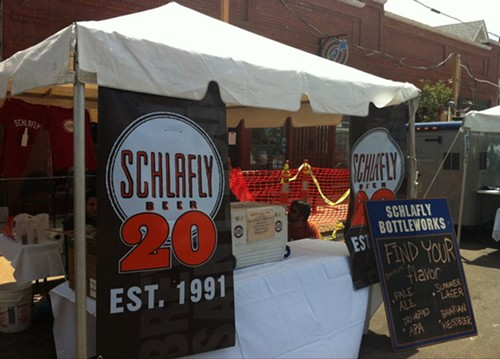 There was plenty of Schlafly on ice at Taste of Maplewood - HOLLY FANN