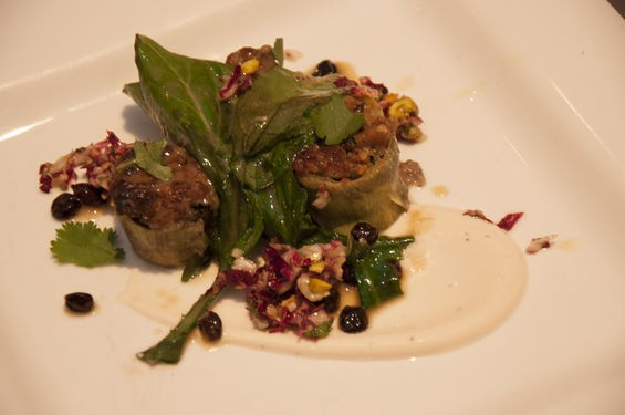 The winning chef's competition dish from Scott Davis of Three Flags Tavern. | Micah Usher
