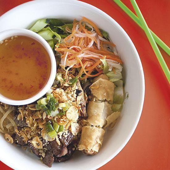 The bun dac biet at Dao Tien Vietnamese Bistro - JENNIFER SILVERBERG