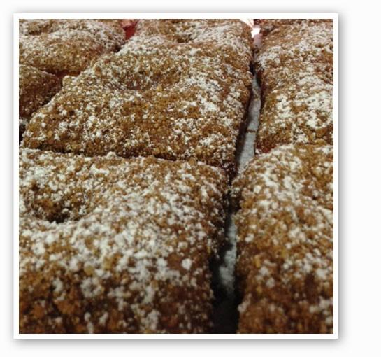 Chai spice doughnut with a graham cracker streusel.   Brian Marsden