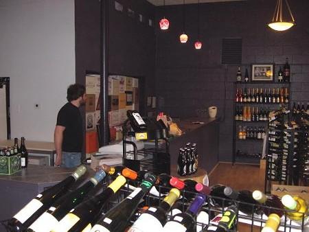 Inside Bon Vivant Wines in Columbia, Illinois - DAVE NELSON