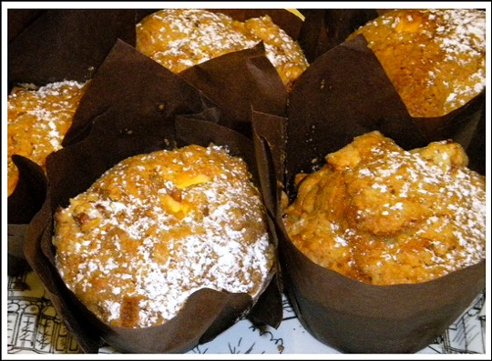 Musgrove's moist apple cake muffins. - DEBORAH HYLAND