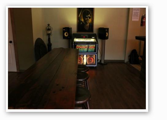 A classic jukebox. | Zach Garrison