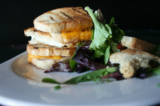 The grilled-cheese sandwich at the Crow's Nest in Maplewood. - CHRISSY WILMES
