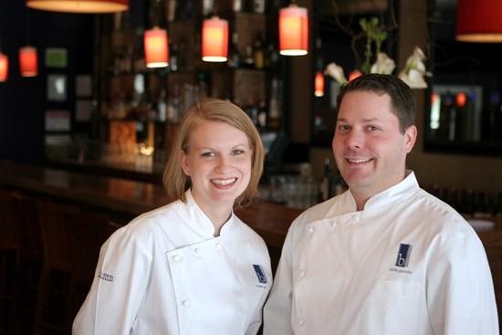 Chefs Megan and Colby Garrelts of progressive fine dining establishment Bluestem in Kansas City, Missouri - COURTESY OF ESTES PUBLIC RELATIONS