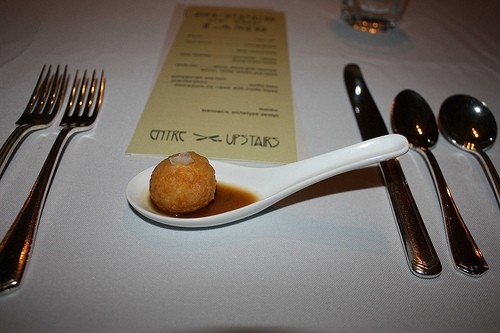 "The ""Tater Tot"" amuse - KELLI BEST-OLIVER"