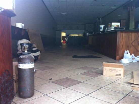 The now-empty Mazara dining area - CHRISSY WILMES