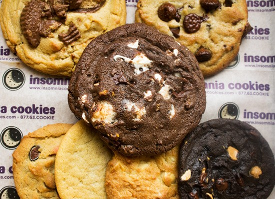"Insomnia Cookies' ""S'mores Deluxe"" Cookie. 