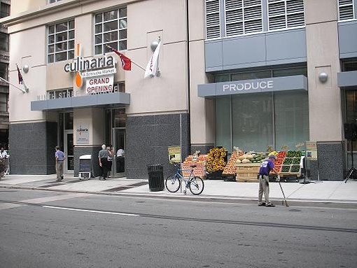 Culinaria, as viewed from North 9th Street. - IAN FROEB