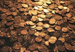 Watch us turn a $100 tip into 100 pennies! - IMAGE VIA