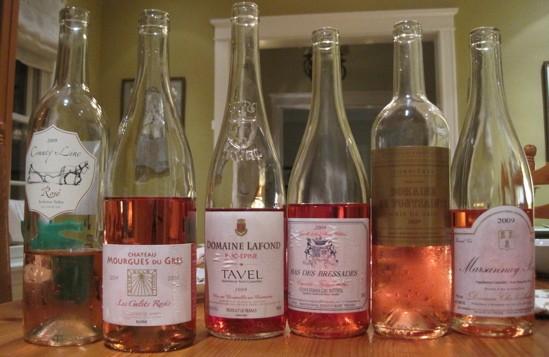 No longer blind: The rosés, revealed. - DAVE NELSON