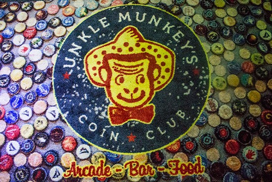 The welcome mat at Unkle Munkey's.   Photos by Mabel Suen