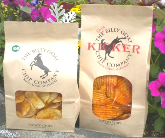 Billy Goat Chips, now in two flavors - DEBORAH HYLAND
