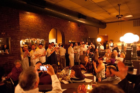 Chefs Erich Emahiser and Ray Carpenter. | Nancy Stiles