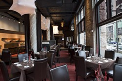 The dining room of Prime 1000 - LAURA MILLER