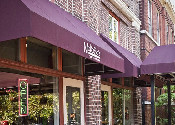 MoKaBe's at Arsenal Street and South Grand Boulevard. | Laura Ann Miller
