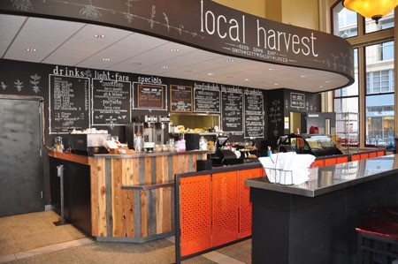 Inside Local Harvest Cafe | Tara Mahadevan