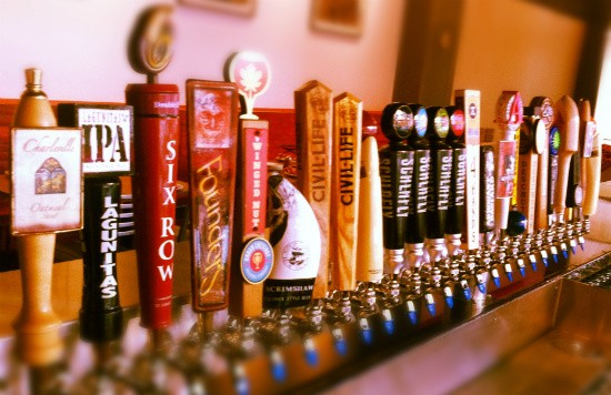 The draft beer selection at Pi is mighty marvelous and mighty local. - CHRIS SOMMERS