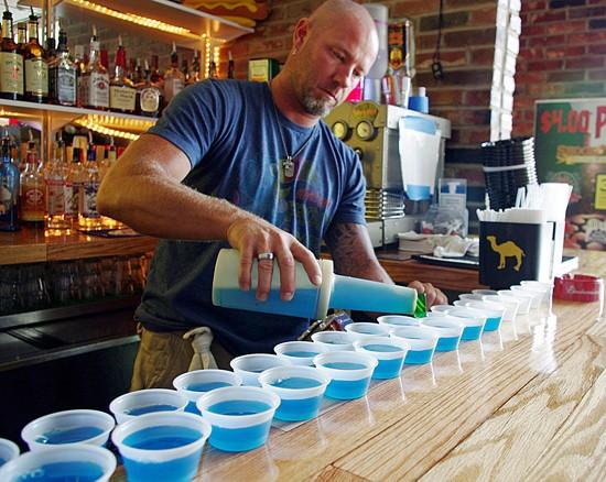Jell-O shots, anyone? Jell-O shots, everyone! - ALISSA NELSON