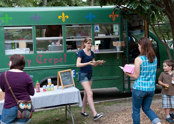 The Holy Crepe food truck will be there.   Jon Gitchoff