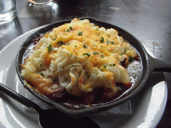 "Our heroine may be ""poor, obscure, plain and little"" -- but that's nothing that a piping-hot shepherd's pie won't cure!"