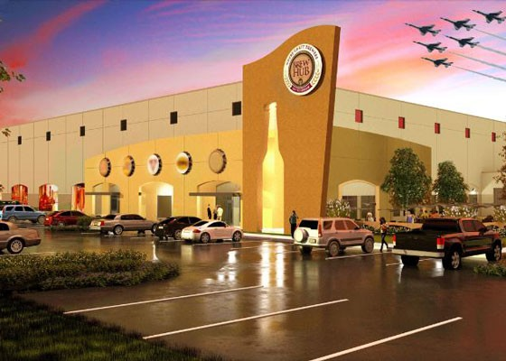 The future St. Louis Brew Hub, complete with...fighter jets? | Brew Hub