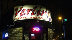 Put your pants back on. Verlin's is closed.