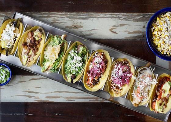 So many tacos, so little time.   Jennifer Silverberg