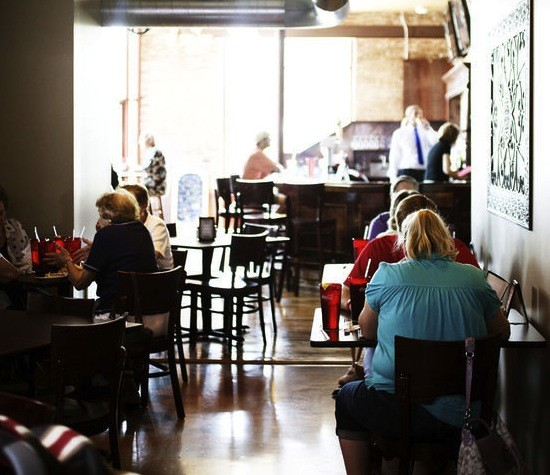 The interior of Quincy Street Bistro - JENNIFER SILVERBERG