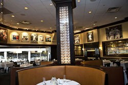 The dining room of Mike Shannon's Steaks and Seafood - LAURA MILLER
