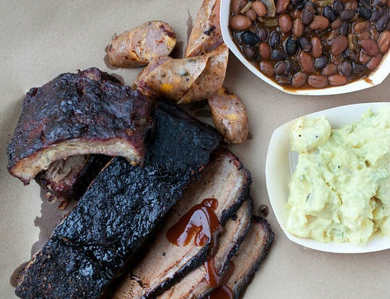 Barbecue from Brew & Q participant, Sugarfire Smokehouse. | Jennifer Silverberg