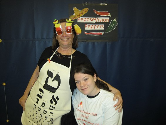 A scene from the 2009 edition of the Kosher Chili Cook-Off. - IMAGE VIA