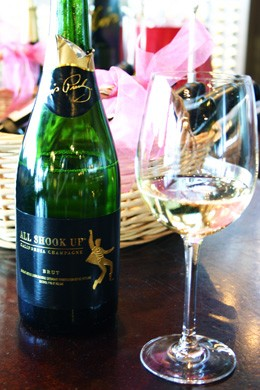 All Shook Up Champagne by Graceland Cellars - KATIE MOULTON