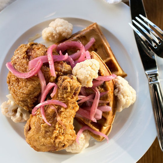 Relax: You can still get Juniper's chicken and waffles. | Jennifer Silverberg