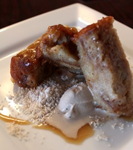 Desserts on the Boulevard's bread pudding. - MABEL SUEN