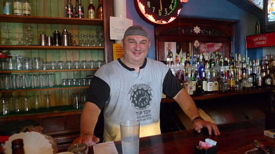 George Korac, owner of Tip-Top Food and Spirits in Soulard - PHOTOS BY KEEGAN HAMILTON