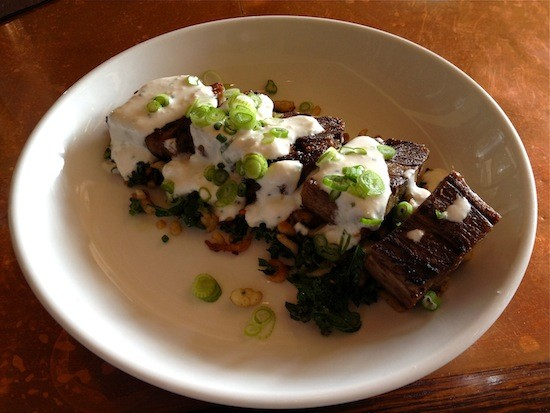The seared beef tongue at Cleveland-Heath | Ian Froeb