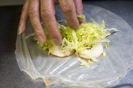 Add lettuce.