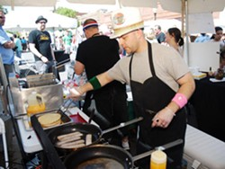 A scene from 2009's Taste of Maplewood - EGAN O'KEEFE