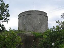 James Joyce's martello tower. Just because. - IMAGE VIA